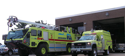 Exterior of Fire Station 7B