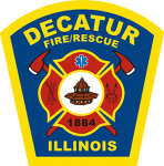 City of Decatur Fire Department Shield