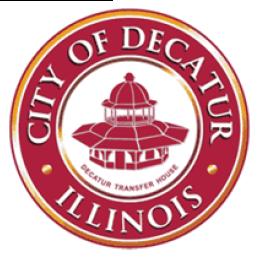 City of Decatur Illinois Seal