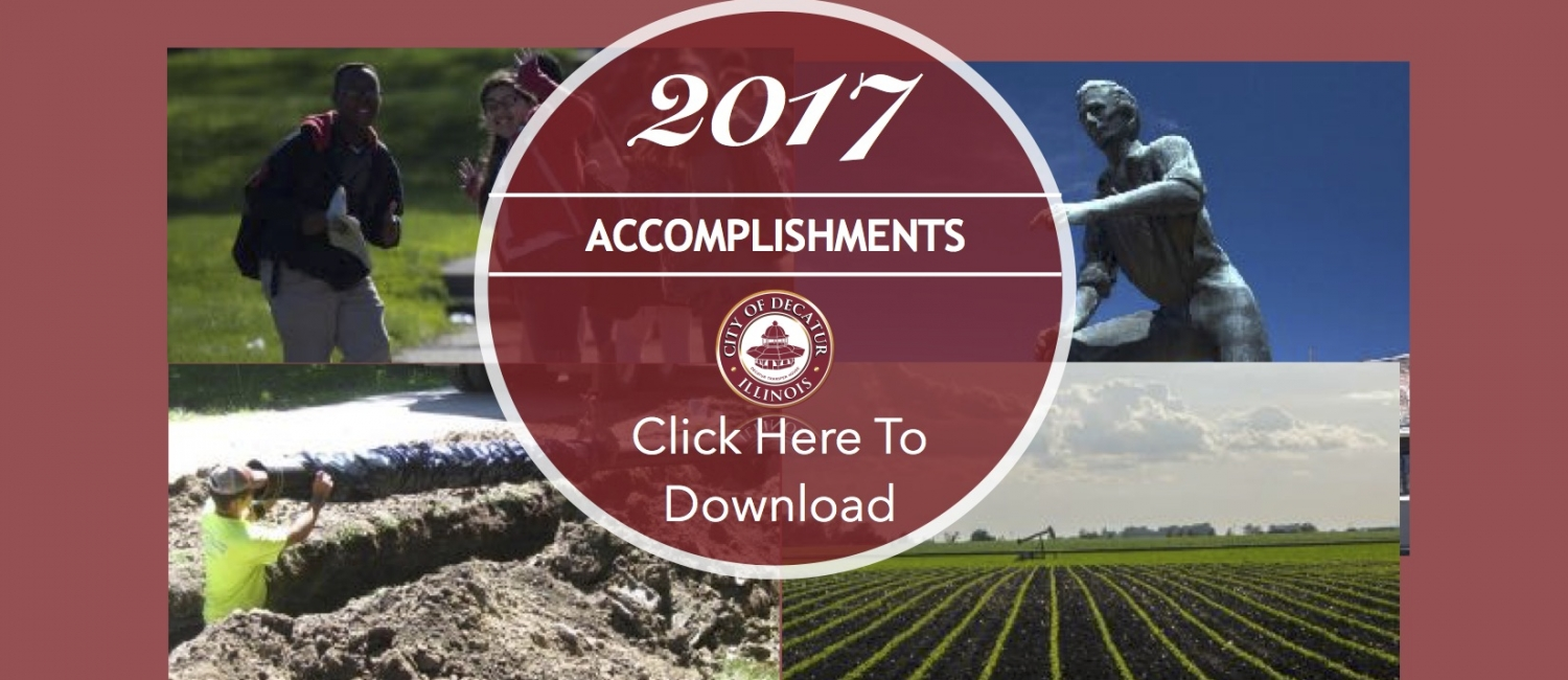 Achievements 2017 with background