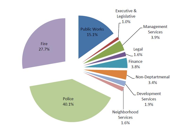 General Fund Expense Distribution Image